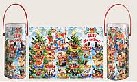 """Новогодняя упаковка для конфет и подарков """"Год Собаки"""""""
