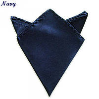 Платок Bow Tie House сапфировый , темно-синий 00754