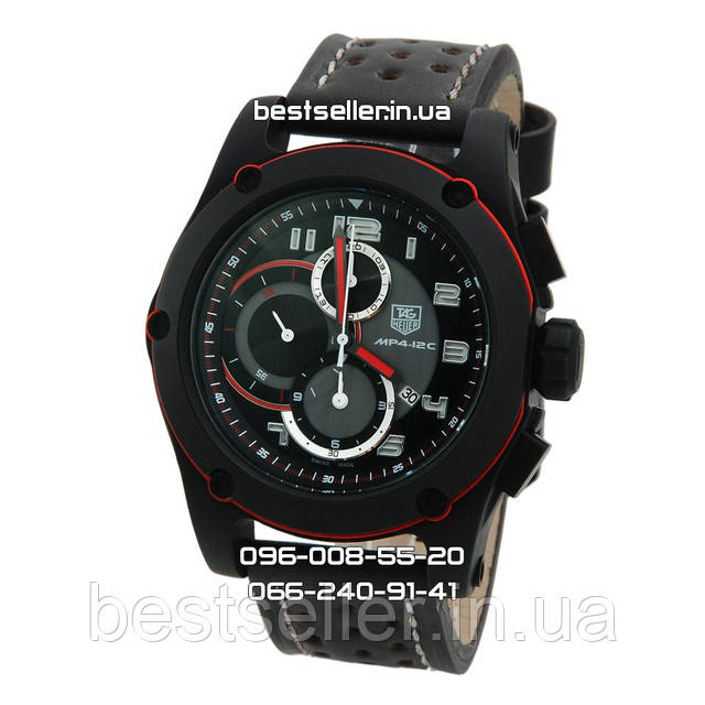 Часы Tag Heuer Grand Carrera Srort MP4 Cronograph Black/Brown. Класс: ААА.