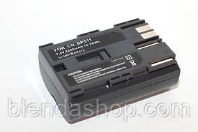 Аккумулятор для фотоаппаратов CANON 300D, 10D, 20D, 30D, 40D, 50D, 5D  - BP-511a (аналог) - 2200 ma