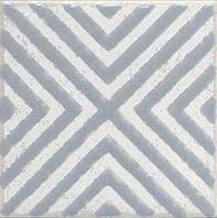 Вставка Kerama Marazzi Неаполитанская Амальфи STG\C403\1270 орнамент серый 9,9х9,9