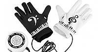 Электронные перчатки-пианино