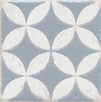 Вставка Kerama Marazzi Неаполитанская Амальфи STG\C401\1270 орнамент серый 9,9х9,9