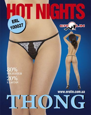 Трусики Hot Nights Red, L
