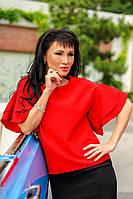 """Летняя блузка """"Элен"""", красный"""