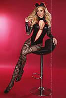 """Ролевой костюм """"SEXY NURSE SURPRISE"""" черный, L/XL"""