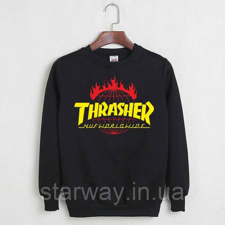 Свитшот Thrasher Huf logo | Кофта трэшер