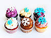 Капкейки новогодние кремовые, фото 6