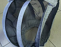Маска на резинке лен-габардин
