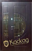 Двери входные металлические полуторные модель Адамант