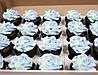Капкейки новогодние кремовые, фото 7