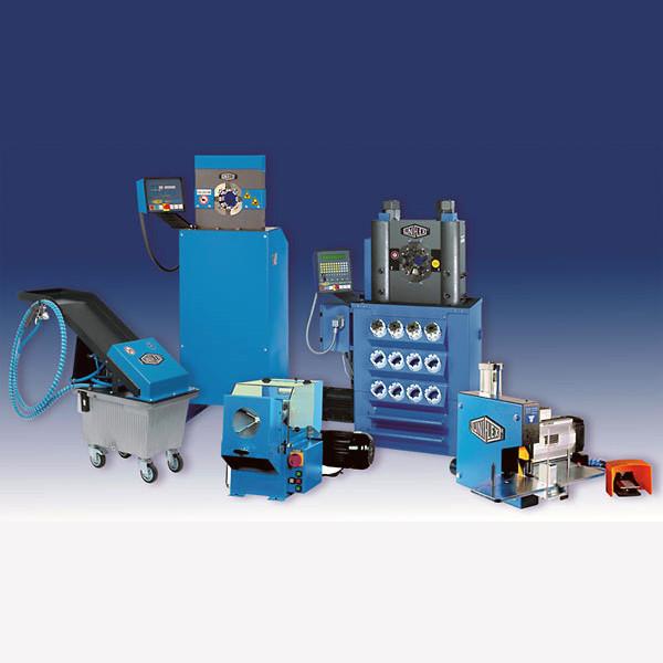 Обжимные прессы и станки для изготовления РВД Uniflex-Hydraulik GmbH (Германия)