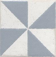 Вставка Kerama Marazzi Неаполитанская Амальфи STG\C407\1270 орнамент серый 9,9х9,9