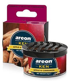 "Ароматизатор Areon ""KEN"" (сухой в банке) Apple&Cinnamon"