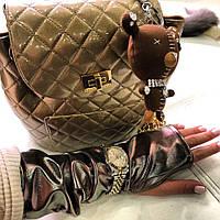 Перламутровые перчатки-митенки ТМ DORATTI