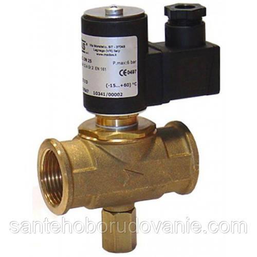 Електромагнітний клапан MADAS M16/RMO N. C. DN20 ( 6bar, 66x133, 12В)