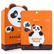 Тканевая маска BERRISOM Animal Mask панда
