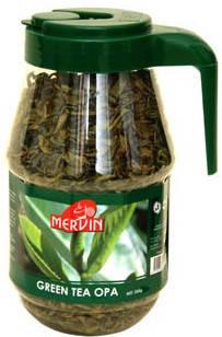 Зеленый крупнолистовой чай в кувшине, Mervin, 250 г, фото 2