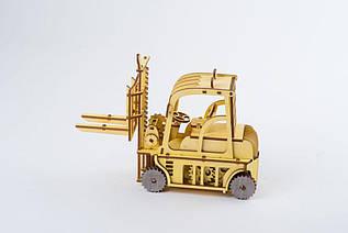 Деревянные сборная модель Автопогрузчик ЛАН - 30