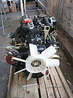 Двигатель JAC 1020 (дв.QC490DI) в сборе