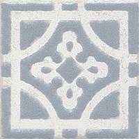 Вставка Kerama Marazzi Неаполитанская Амальфи STG\C406\1270 орнамент серый 9,9х9,9