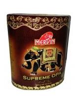 """Чёрный крупнолистовой чай """"Supreme OPA"""", Mervin, 400 г"""