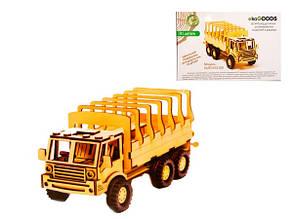 Дерев'яні збірна модель Вантажівка КрАЗ Бортова