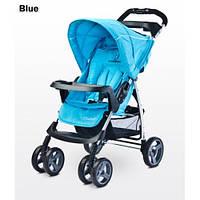 Детская прогулочная коляска Caretero Monaco Blue