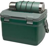Термоящик термобокс STANLEY Adventure 6.6 л зелений 10-01622-003, фото 1