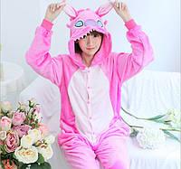 Пижама кигуруми женская. Жіноча піжама | Стич розовый