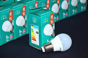 LED лампа шар G45