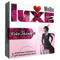 "Презервативы Luxe Mini Box ""Коко Шанель"""