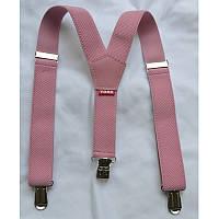 Подтяжки Bow Tie House детские розовые 03685