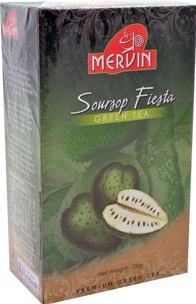 "Зелений чай ""Саусеп Фієста"", Mervin, 100г"