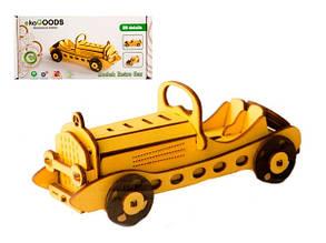 Деревянные сборная модель Retro Car