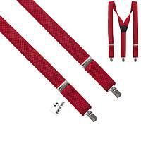 Подтяжки Bow Tie House подростковые красные 03816