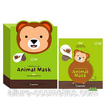 Тканевая маска BERRISOM Animal Mask обезьяна