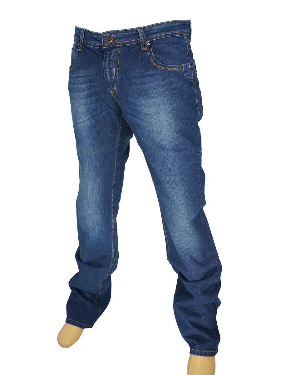 Темно-сині чоловічі джинси X-Foot 140-1492 у великому розмірі