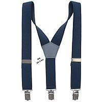 Подтяжки Bow Tie House детские синий джинс 05148