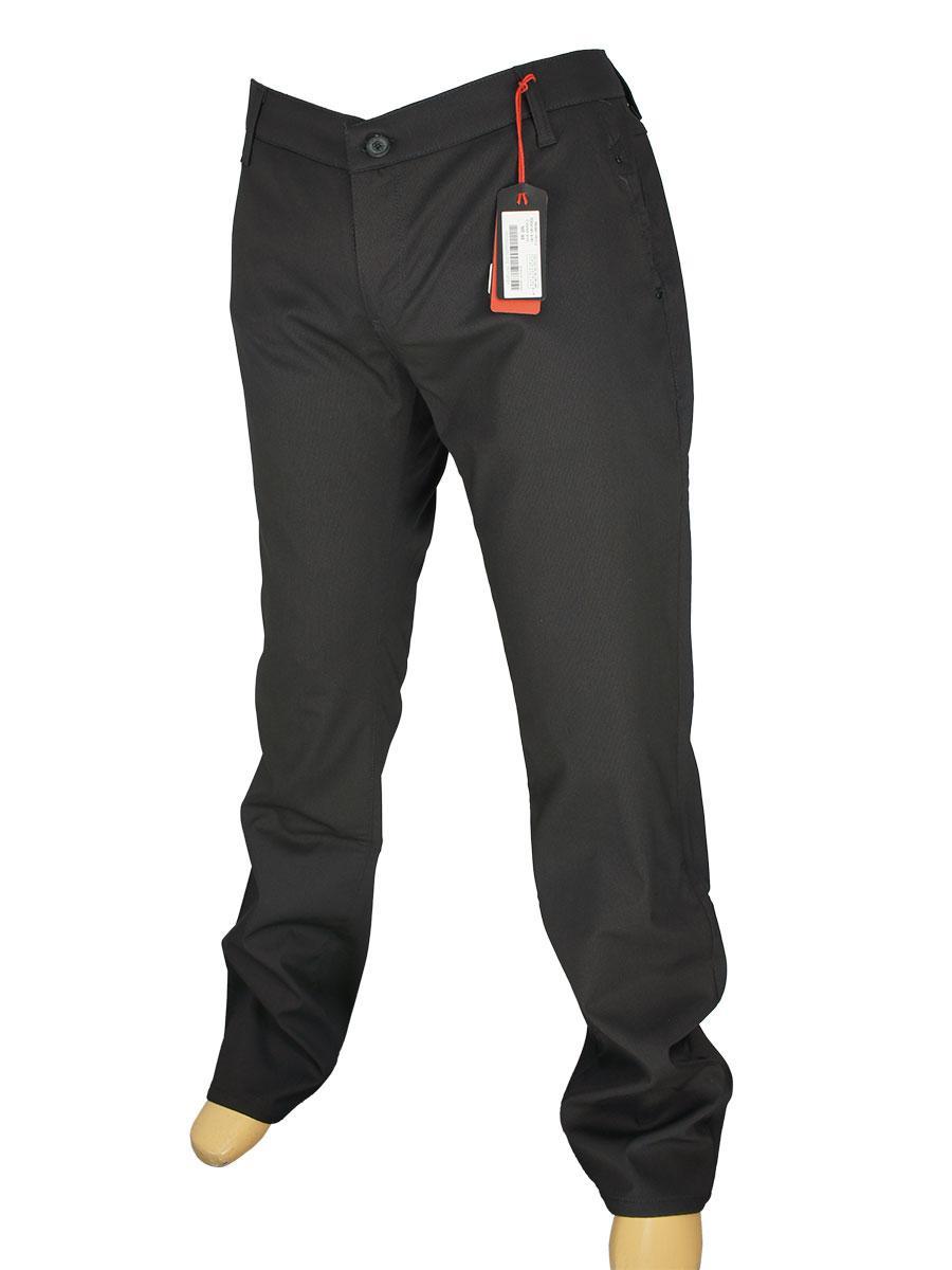 Чорні чоловічі джинси X-Foot 150-1571 на флісі