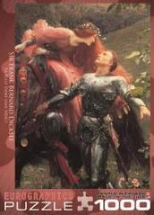 Пазлы картины художников 'Безжалостная красавица' Фрэнк Бернард Дикси  Eurographics 6000-0147