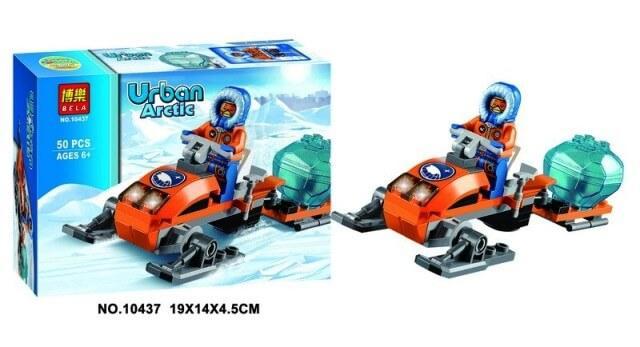 Конструктор URBAN Арктический снегоход 10437 BELA