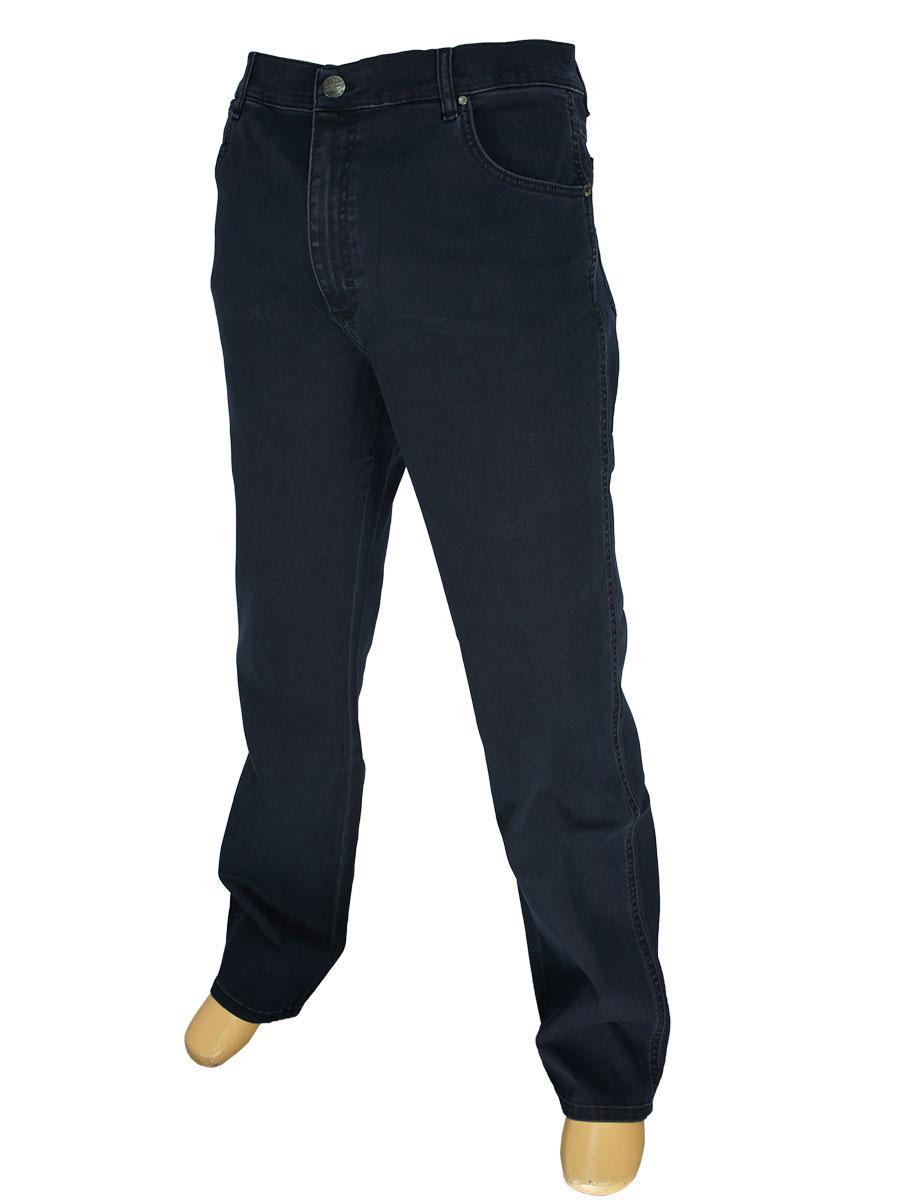 Класичні чоловічі джинси Lexus 347D P/6710 в темно-синьму кольорі