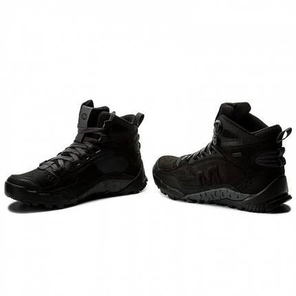 Оригинал Зимние мужские ботинки Merrell Annex TRAK MID WTRF J91789 Black Черные, фото 2