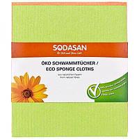 Суперпоглощающая салфетка-губка для влажной уборки Sodasan