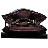 Рюкзак женский кожаный  с клапаном (бронзовый), фото 9