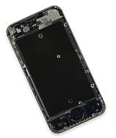 Средняя часть корпуса корпуса для iPhone 4S, пустая