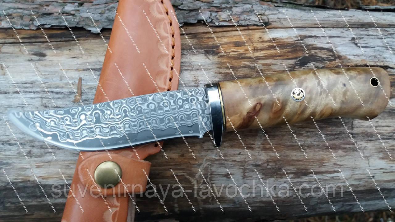 Нож охотничий DKY - Magma ( Дамаск )