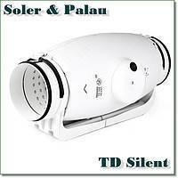 Бесшумный канальный вентилятор TD-1000/200 Silent