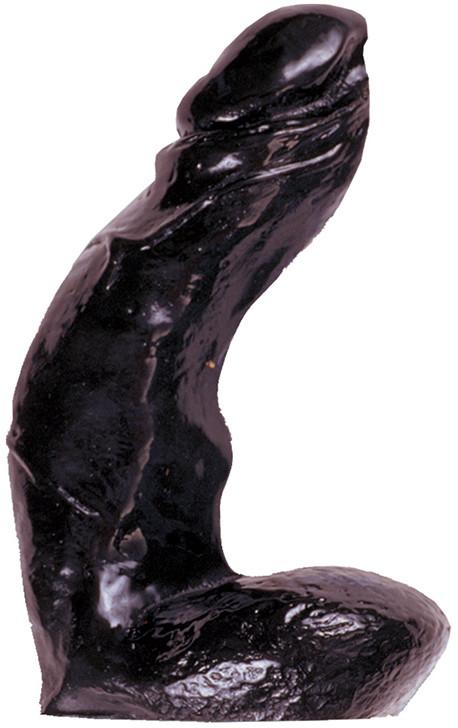Анальный стимулятор All Black: 15 cm